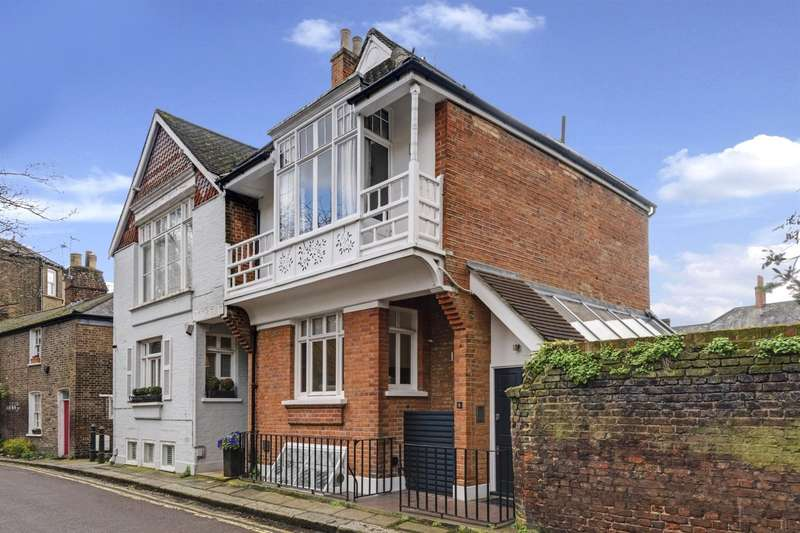 4 Bedrooms Semi Detached House for sale in Elm Row, Hampstead Village, London, NW3