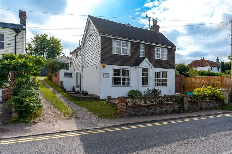 4 Bedrooms Detached House for sale in Old Well House, 11 The Street, Boughton-under-Blean