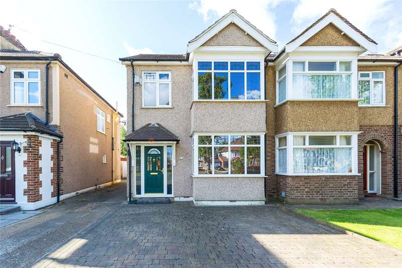 4 Bedrooms Semi Detached House for sale in Westbury Terrace, Upminster, RM14