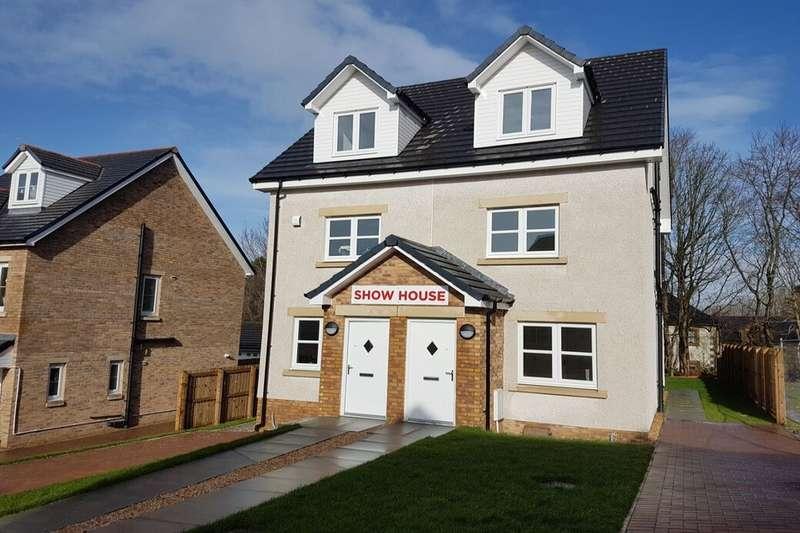 4 Bedrooms Semi Detached House for sale in Cleghorn Lea, Lanark, ML11
