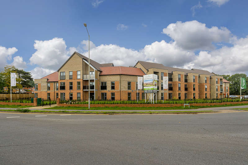 2 Bedrooms Flat for sale in Deans Park Court, Kingsway, Stafford