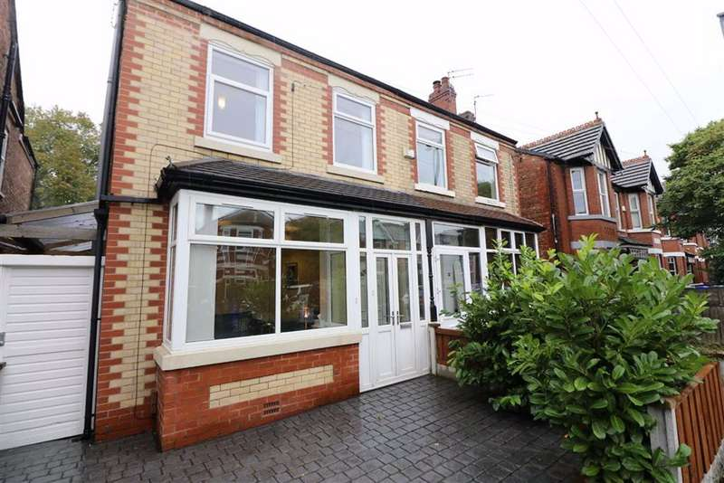 3 Bedrooms Semi Detached House for sale in Nicolas Road, Chorlton, Manchester, M21