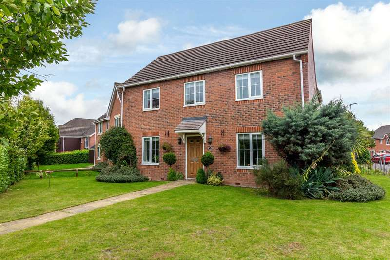 5 Bedrooms Detached House for sale in Saxon Gate, Hereford