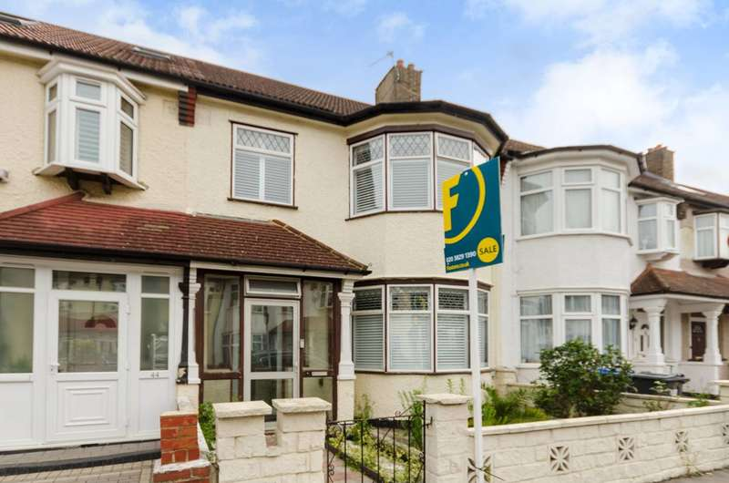 3 Bedrooms Terraced House for sale in Fairlands Avenue, Mitcham, CR7