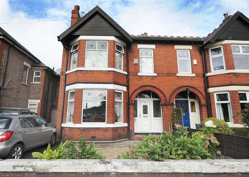 3 Bedrooms Semi Detached House for sale in 356 Liverpool Road, Irlam M44 6AL