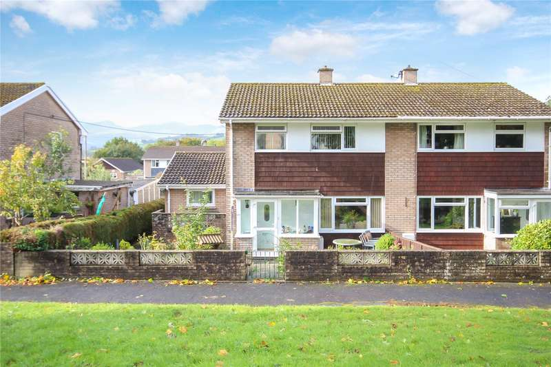 3 Bedrooms Semi Detached House for sale in 27 The Groesfford, Groesffordd, Brecon, Powys, LD3 7SN
