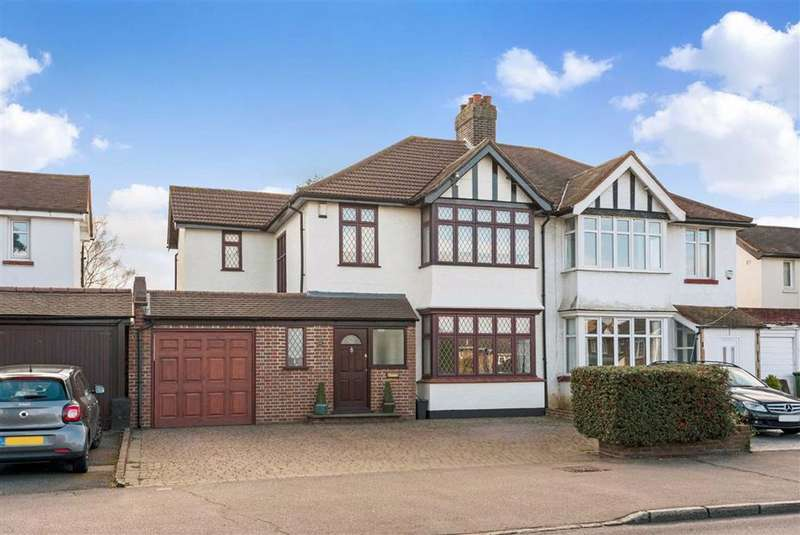 4 Bedrooms Semi Detached House for sale in Crofton Road, Orpington, Kent