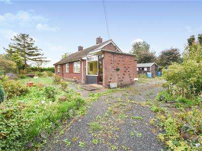 2 Bedrooms Detached Bungalow for sale in Whitgreave Lane, Whitgreave, Stafford