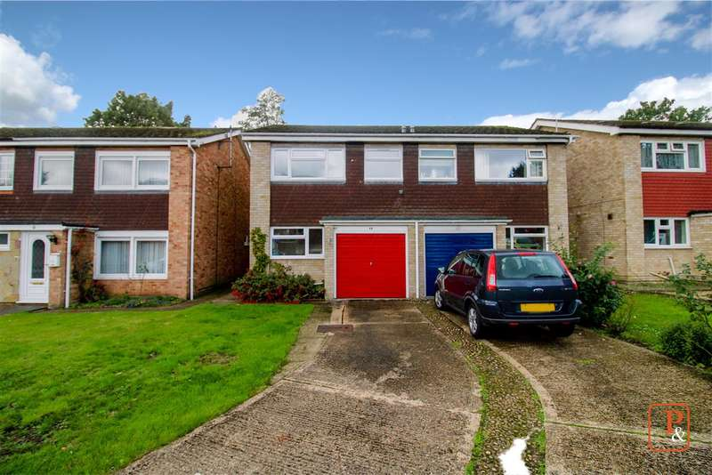 3 Bedrooms Semi Detached House for sale in Dudley Close, Colchester, CO2