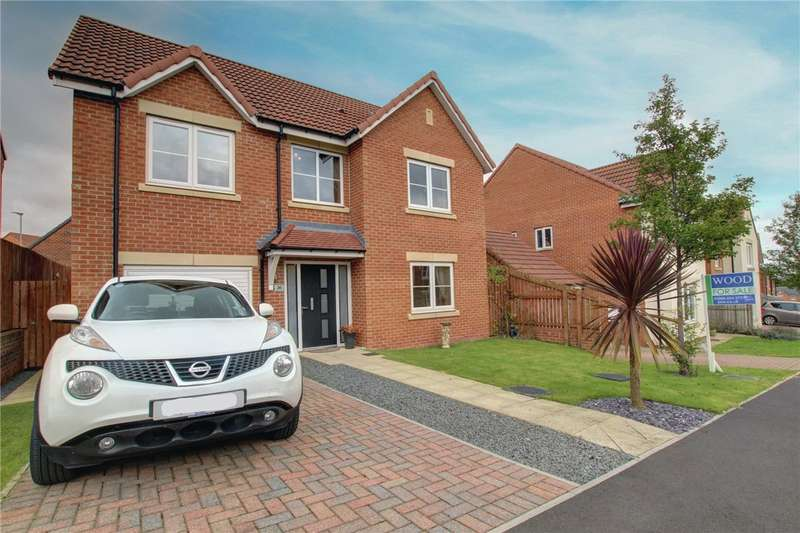 4 Bedrooms Detached House for sale in Rushyford Drive, Chilton, Ferryhill, DL17