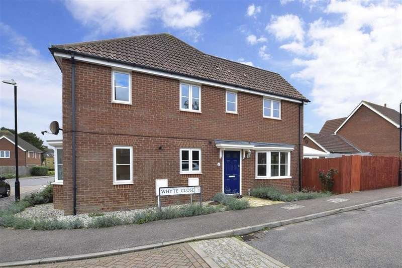 3 Bedrooms Semi Detached House for sale in Whyte Close, , Whitfield, Dover, Kent