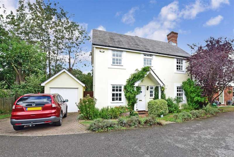 4 Bedrooms Detached House for sale in Shalmsford Street, , Chartham, Canterbury, Kent