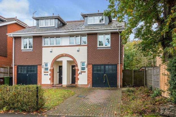 4 Bedrooms Semi Detached House for sale in Portesbery Road, Camberley, Surrey