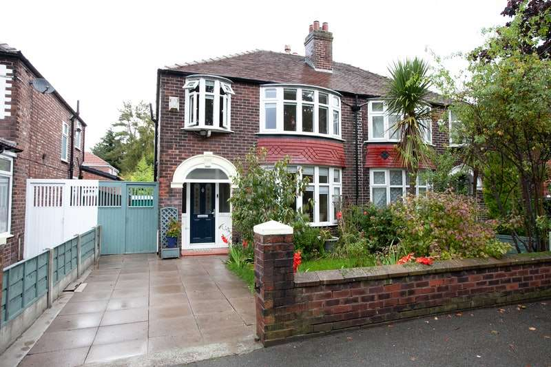 3 Bedrooms Semi Detached House for sale in Brantingham Road, Manchester, Greater Manchester, M21