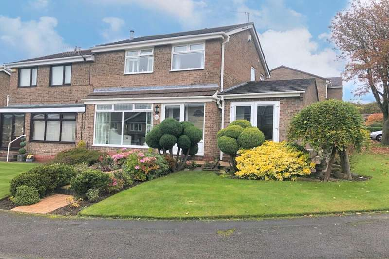 3 Bedrooms Semi Detached House for sale in High Peak, Guisborough, TS14