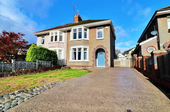4 Bedrooms Semi Detached House for sale in Hollybush Terrace, Church Village, Pontypridd, CF38