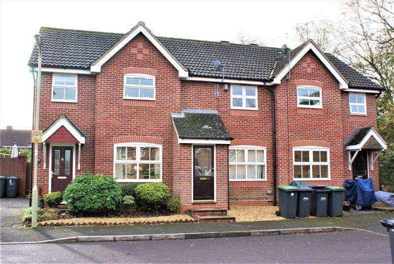 2 Bedrooms Terraced House for rent in Faber Close, Havant, Hampshire, PO9