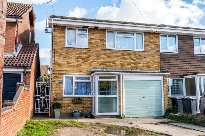 3 Bedrooms End Of Terrace House for sale in St Johns Road, Great Wakering, Southend-On-Sea, Essex, SS3