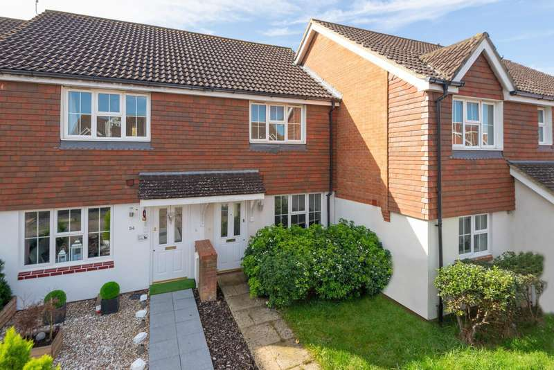 2 Bedrooms Terraced House for sale in Bishopswood, Park Farm, Ashford, TN23