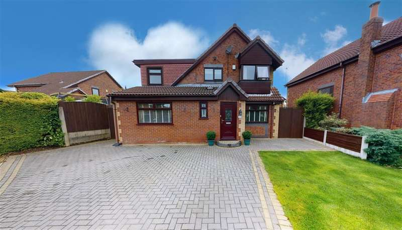 4 Bedrooms Detached House for sale in Waters Edge, Farnworth, Bolton, BL4 0NL