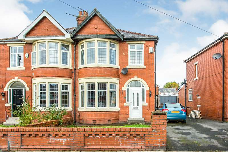 3 Bedrooms Semi Detached House for sale in Glenluce Drive, Preston, Lancashire, PR1
