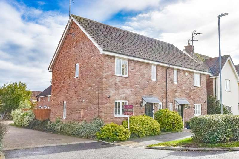 3 Bedrooms Semi Detached House for sale in Warwick Road, Little Canfield, Dunmow