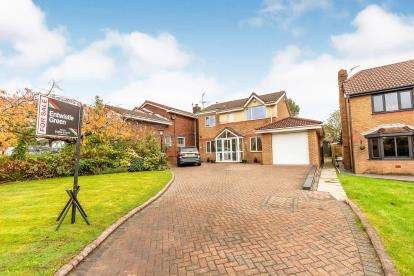 4 Bedrooms Detached House for sale in The Spinney, Beardwood, Blackburn, Lancashire, BB2