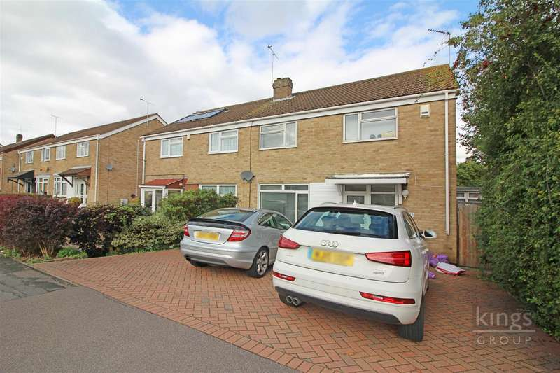 4 Bedrooms Semi Detached House for sale in Latton Green, Harlow