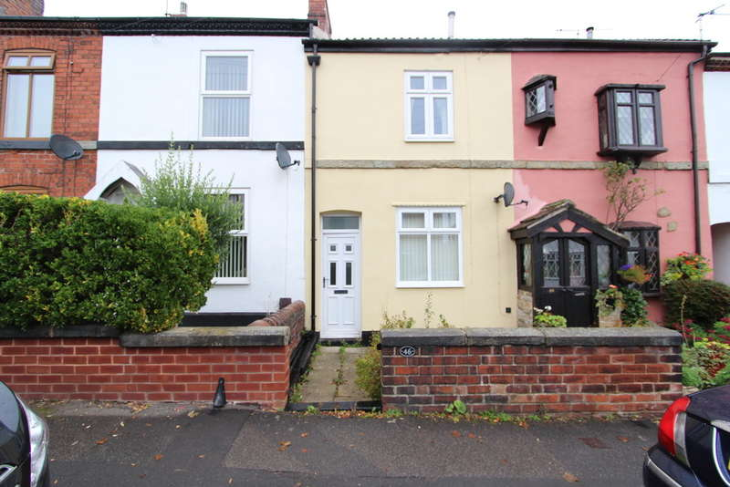 2 Bedrooms Terraced House for rent in Princess Road, Dronfield