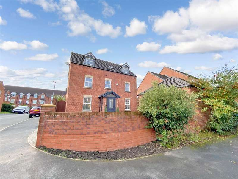 4 Bedrooms Detached House for sale in Heys Hunt Avenue, Leyland