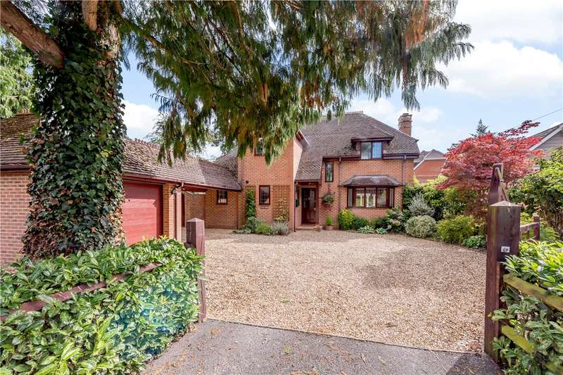 4 Bedrooms Detached House for sale in Hookpit Farm Lane, Kings Worthy, Winchester, SO23