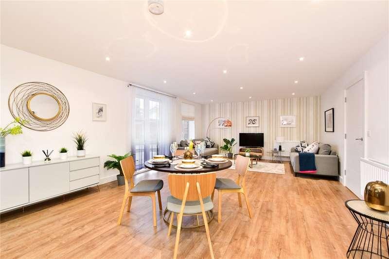 2 Bedrooms Flat for sale in Bushey Hall Road, Bushey, WD23