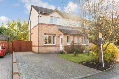 2 Bedrooms Semi Detached House for sale in Hawthorn Gardens, Cambuslang
