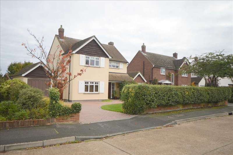 3 Bedrooms Detached House for sale in Lodge Avenue, Chelmsford
