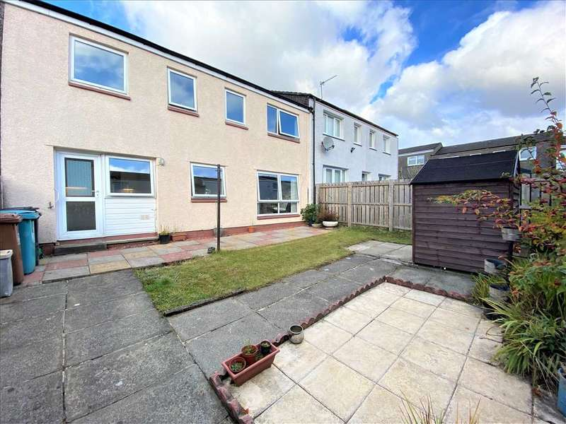 4 Bedrooms Terraced House for sale in Melrose Road, Cumbernauld
