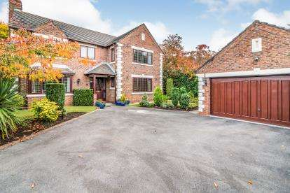 4 Bedrooms Detached House for sale in Sherbrooke Close, Sale, Greater Manchester