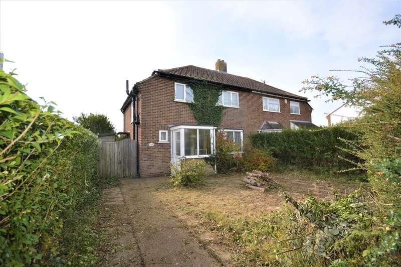 3 Bedrooms Semi Detached House for sale in Church Road, Cheriton, Folkestone