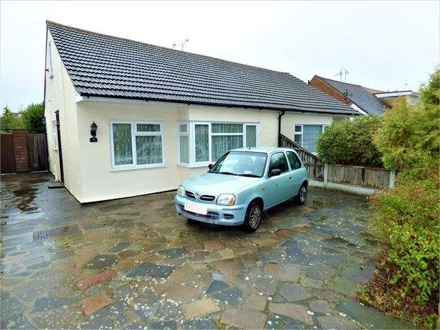 2 Bedrooms Semi Detached Bungalow for sale in Bohemia Chase, Leigh on sea, Leigh on sea, Essex. SS9 4PW