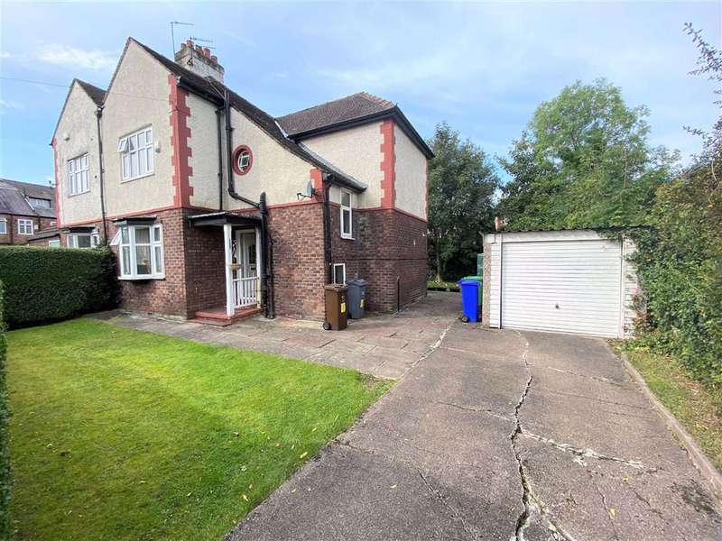 3 Bedrooms Semi Detached House for sale in Parrs Wood Avenue, Didsbury, Manchester, M20