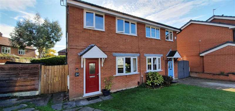 3 Bedrooms Semi Detached House for sale in Bolesworth Close, Chorlton