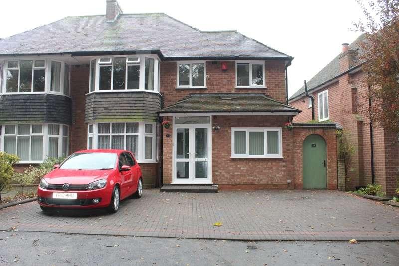 5 Bedrooms Semi Detached House for sale in West Avenue, Birmingham