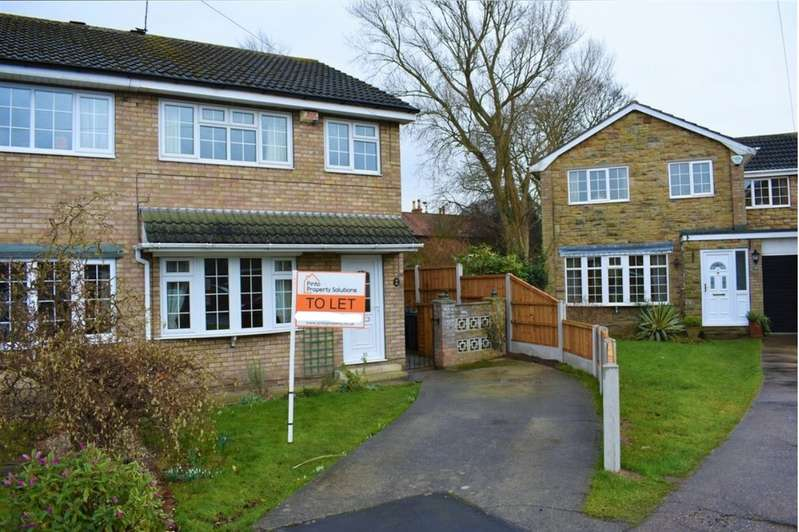 3 Bedrooms Semi Detached House for rent in Amanda Drive, Hatfield, Doncaster, DN7