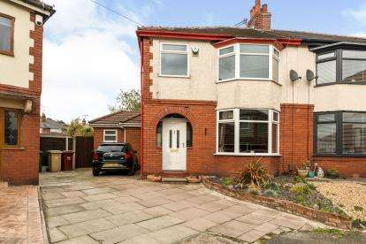 3 Bedrooms Semi Detached House for sale in Trillo Avenue, The Haulgh, Bolton, Greater Manchester, BL2