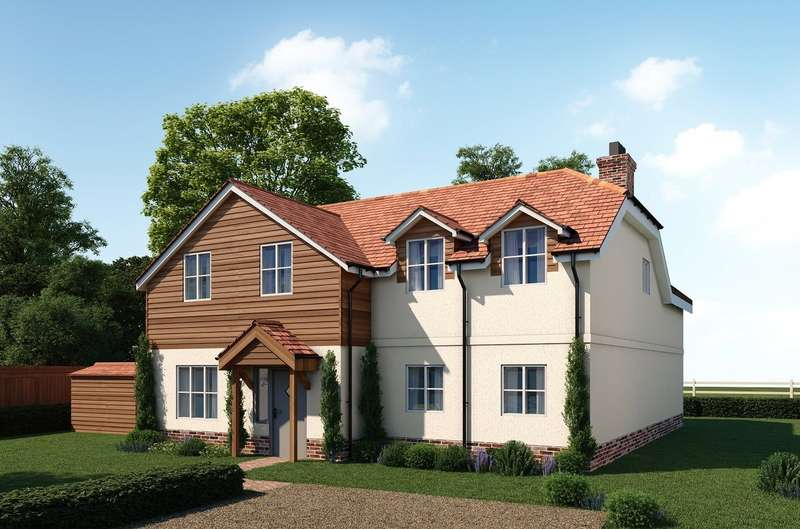 3 Bedrooms Detached House for sale in The Shires, Manor Road, Sherborne St John, RG24