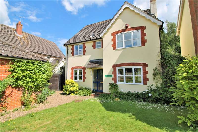 4 Bedrooms Detached House for sale in The Street, Brockdish, Diss