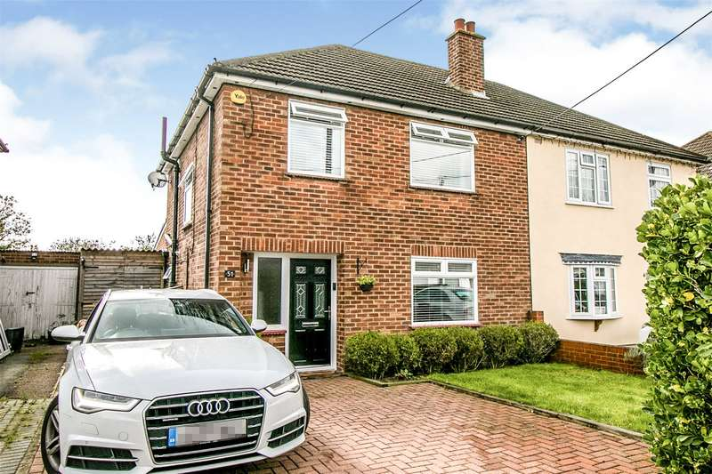 3 Bedrooms Semi Detached House for sale in Cadogan Avenue, West Horndon, Brentwood, Essex