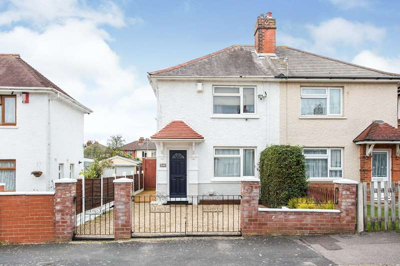 2 Bedrooms Semi Detached House for sale in Alder Road, Southampton, Hampshire, SO16