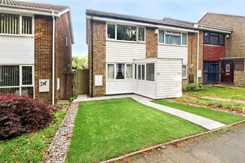 2 Bedrooms End Of Terrace House for sale in Badger Road, Chatham, Kent, ME5