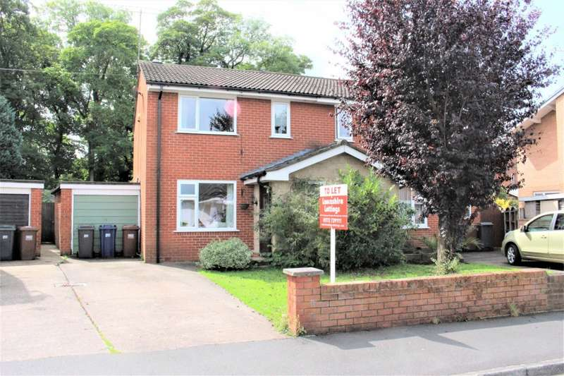 3 Bedrooms Semi Detached House for rent in Bannister Hall Drive, Higher Walton, Preston, PR5