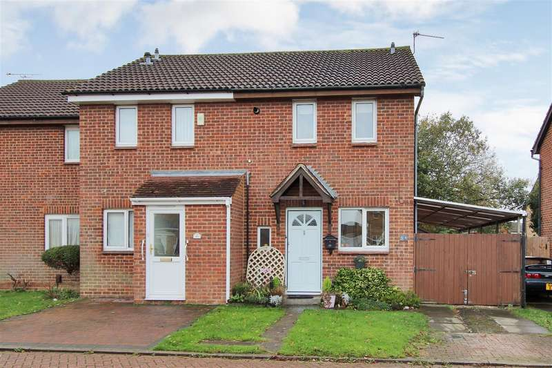 2 Bedrooms End Of Terrace House for sale in Vectis Drive, Sittingbourne